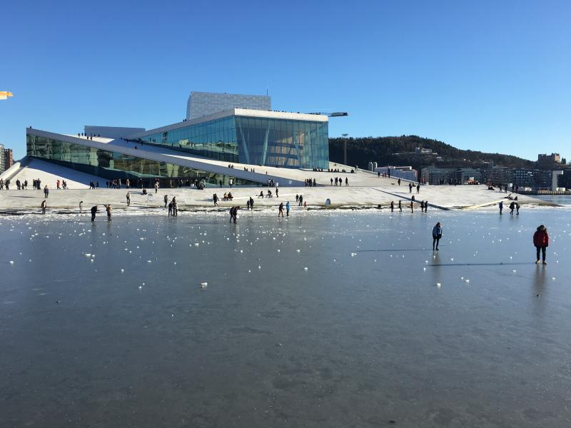 Oslo Opera. Photo by Marit Karlsen